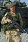 Corporal Anthony Boneca, Lake Superior Scottish Regiment. (DND)